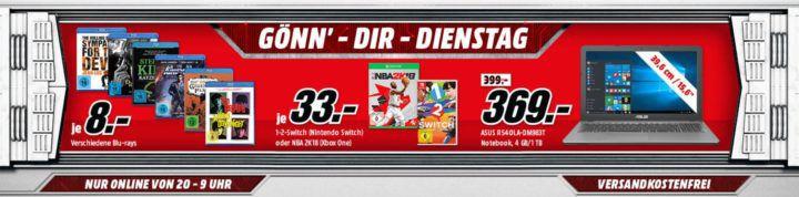 ALIENWARE Aurora R6 Gaming PC für 1.299€ und vieles mehr im Media Markt Dienstag Sale
