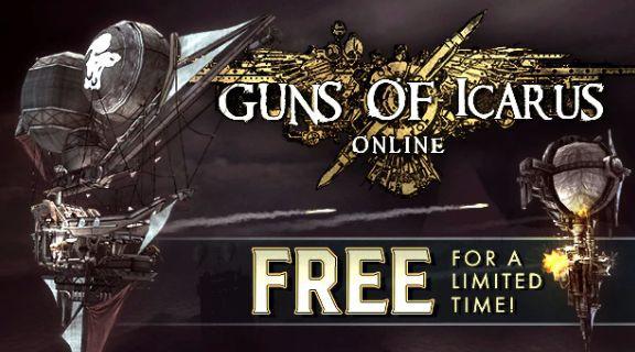 Guns of Icarus Online (Steam Key, Sammelkarten) gratis im Humble Store