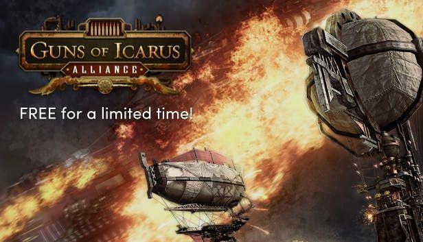 Guns of Icarus Alliance (Steam Key, Sammelkarten) gratis im Humble Store