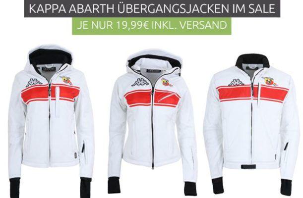 Kappa 4Cento 408 Abarth   Damen Jacke für nur 19,99€