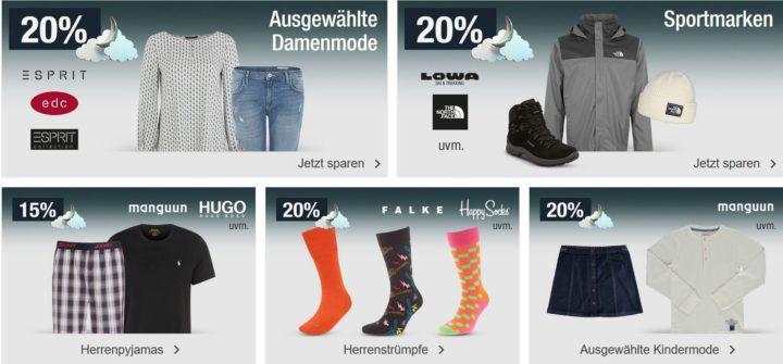 20% auf Geschirr & Co.   auf Sportwaren und Damenfashion uvm.   Galeria Kaufhof Mondschein Angebote
