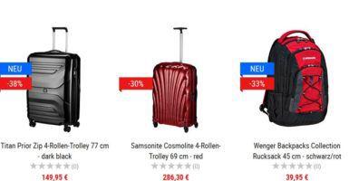 Koffer Direkt mit 15% Rabatt auf Vollpreis Artikel + weitere 5% bei Vorkasse
