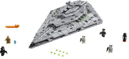 LEGO Star Wars First Order Star Destroyer für 86,39€ (statt 111€)