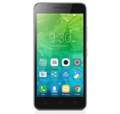 LENOVO C2   Android 5 Zoll Smartphone mit 8GB für 59€ (statt 78€)