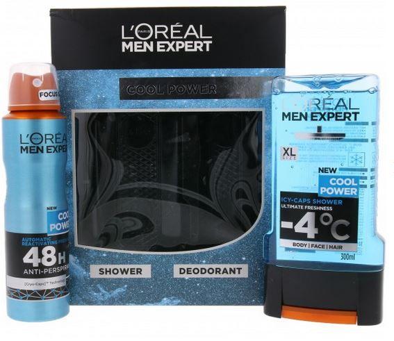 LORÉAL PARiS MEN EXPERT Cool Power im 2er Set ab 6,99€ (MBW 19€)