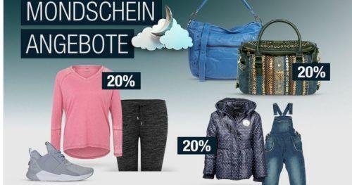 20% Rabatt auf ausgewählte Sportmarken, Galeria Home uvm.   Galeria Kaufhof Mondschein Angebote