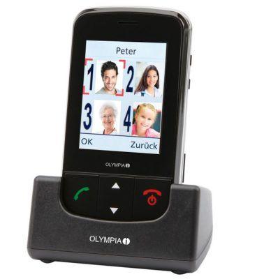 Olympia Brio Touch 2,4 Zoll Großtasten Mobiltelefon für 29,90€