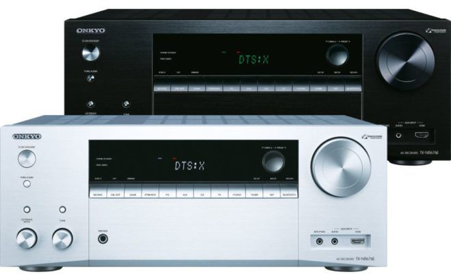 Onkyo TX NR676E Multiroom 7.2 AV WiFi Airplay Receiver silber für 369€