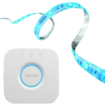 Philips Hue LightStrip+ 2 m Basis inkl. Hue Bridge für 77€ (statt 101€)