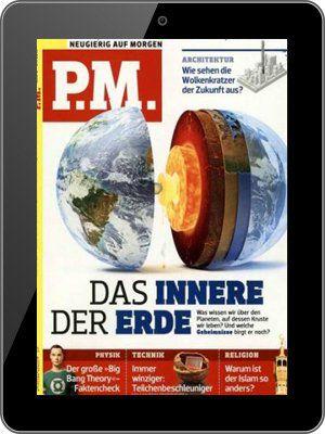 Vorbei! P.M. Magazin   E Paper Jahresabo für 35,04€ + 50€ Gutschein