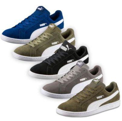 PUMA SMASH SD   Herren Wildleder Sneaker 26,95€ (statt 38€)