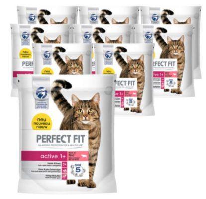 Perfect Fit Katzenfutter Trockenfutter 9 Beutel mit je 1,4 kg (12,6kg) für nur 29,90€