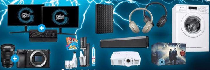 Saturn Super Sunday Deals: z.B. LOGITECH Z333 Multimedia Lautsprecher statt 50€ für nur 33€