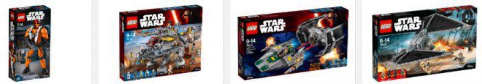 Coole 3 für 2 Lego Aktion bei Saturn – z.B. Große Flugschau, A Wing Starfighter ...etc.