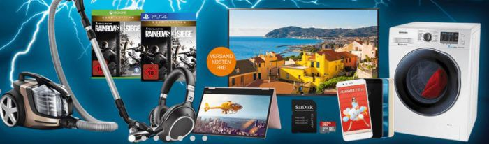 Saturn Late Night Shopping Übersicht   u.a.: LENOVO Yoga A12, Convertible 12,2 statt 349€ für 299€