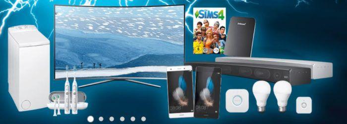 Saturn Late Night Shopping Übersicht   u.a.: HUAWEI P8 Lite Smartphone für nur 125€