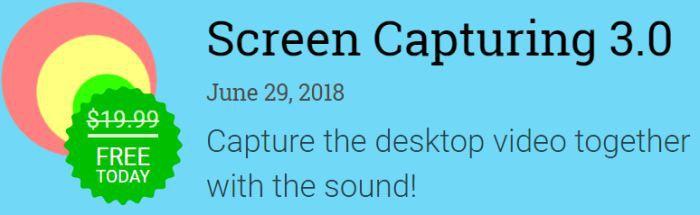 Kostenlos: Screen Capturing 3 – nur bis morgen 10 Uhr