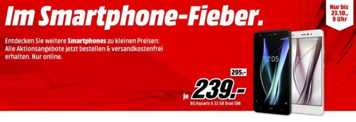 Media Markt Smartphone Fieber: z.B. BLACKBERRY DTEK 60 32 GB für 349€