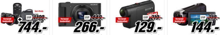 Media Markt Mega Marken Sparen: günstige Artikel von Sony, Tamron, LG und Rollei