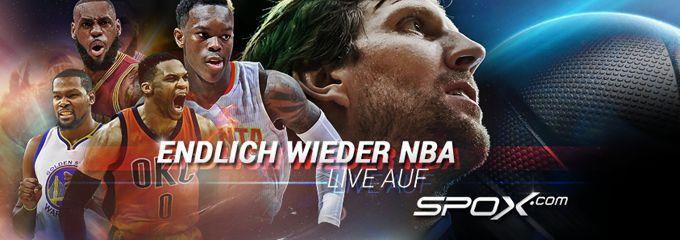 Kostenloser NBA Livestream bei Spox   25 Spiele gratis ansehen