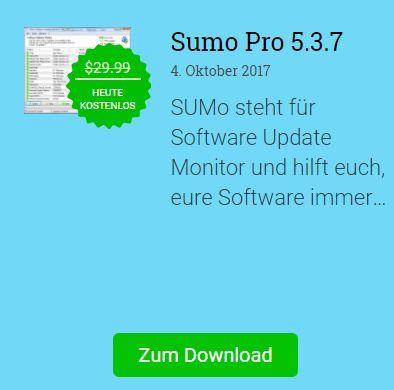 Kostenlos: Sumo Pro 5 – nur bis morgen 10 Uhr