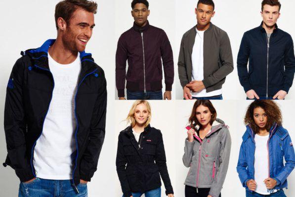 Superdry Herren und Damen Jacken (42 Modelle) für je 44,95€
