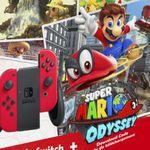 SATURN Schocktober z.B. NINTENDO Switch Rot + Super Mario Odyssey statt 389€ für 349€