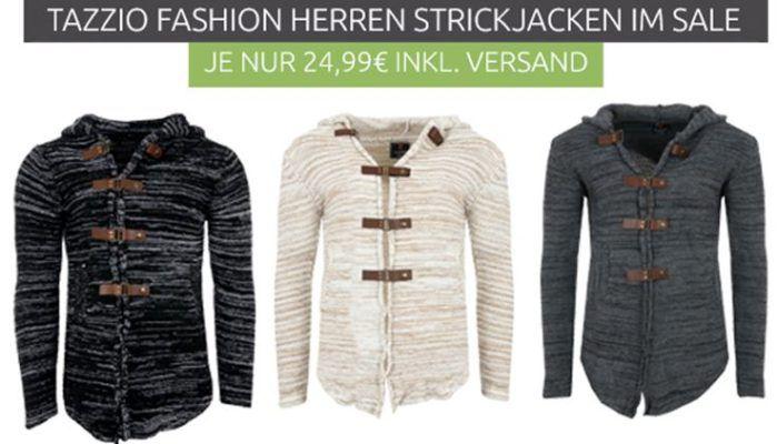 Tazzio Fashion Herren Strickjacken für je 24,99€