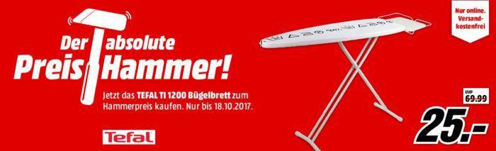 Tefal TI 1200 Bügelbrett für 25€ (statt 48€)