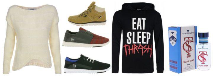 Outlet 46 Tagesangebote: Tom Tailor EdT ab 0,99€   Hummel Sneaker ab 14,99€ uvam.