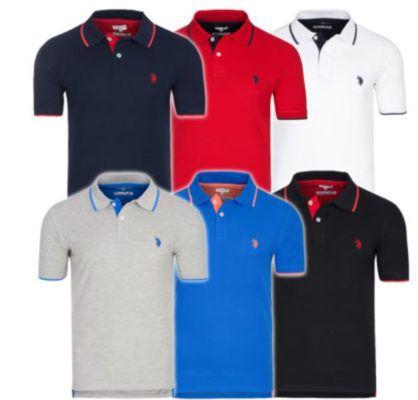 U.S. POLO ASSN. Herren Poloshirts für 19,99€ (statt 33€)