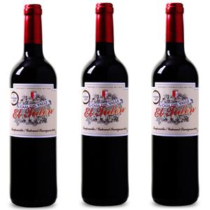 6er Kiste Casa del Valle El Tidón Tempranillo Cabernet Sauvignon für 25,93€   goldprämierter Rotwein