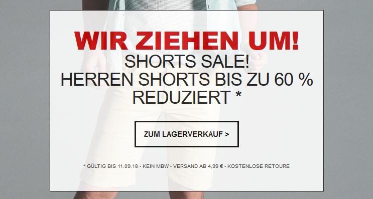 Jeans Direct mit bis zu 60% Rabatt auf Shorts