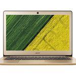 ACER Swift 3 (SF314-51-52SR) -14 Zoll goldenes Notebook mit i5, 8GB RAM, 512 GB SSD statt 799€ für 599€