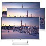 HP 27 Curved Full-HD Monitor für 169€ (statt 215€)