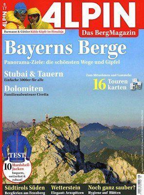 """12 Ausgaben der Zeitschrift """"Alpin"""" für 62,90€ inkl. 50€ Verrechnungsscheck"""