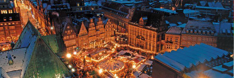 1 ÜN am Bremer Weihnachtsmarkt inkl. Frühstück & mehr ab 39€ p.P.
