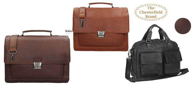 Verschiedene Chesterfield Business  oder Aktentaschen für je 75,90€ (statt ~170€)