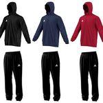Adidas Core 15 Regenjacke oder Regenhose in Schwarz, Rot, Blau für je 19,99€