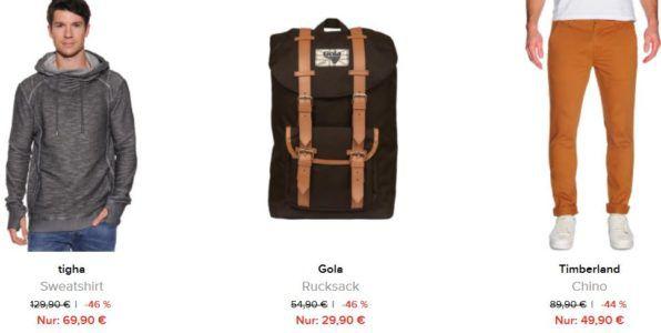dress for less Sale mit bis zu 70% Rabatt + 10% Gutschein u.a. Gola Bellamy Rucksack statt 41€ ab 27€
