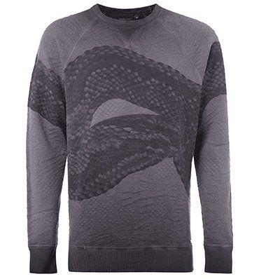Diesel Herren Sweatshirt mit Schlangen Print für 47,20€ (statt 59€)