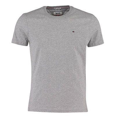 Hilfiger Denim Basic Herren T Shirt in Schwarz, Weiß, Grau oder Marine (S XL) für 14,90€ (statt 25€)