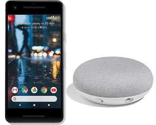 Google Pixel 2 + Home mini für 58,95€ + Allnet Flat mit 2GB im Telekom Netz für mtl. 31,99€