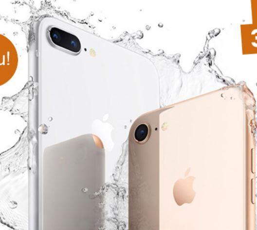 Apple iPhone 8 + Vodafone Allnet + 2 GB Flat für 39,86€ mtl.