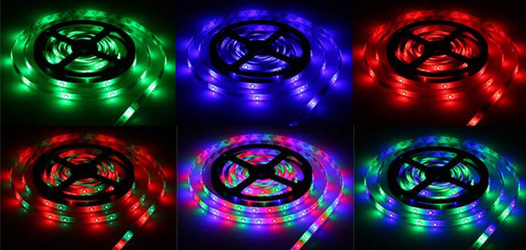 5M LED Streifen mit 270 LEDs (2835 SMD) inkl. Fernbedienung für 4,97€