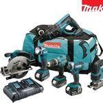Makita Powertool-Kombiset DLX6068PT mit 3 Akkus für 758,90€ (statt 873€)