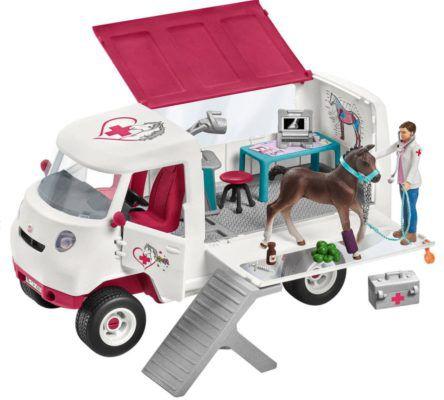 Schleich Horse Club: Mobile Tierärztin mit Spielfiguren für 31,94€