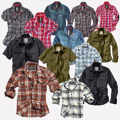 SURPLUS Raw Vintage Herren & Damen LUMBERJACK Hemden für 9,90€