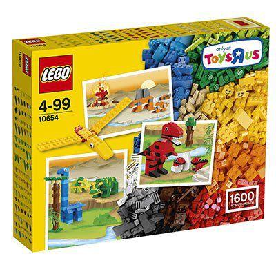 LEGO Classic 10654 Riesengroße Bausteine Box mit 1600 Teilen für 54,99€ (statt 65€)