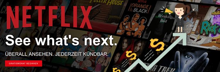 News: Netflix   Preiserhöhung ab sofort